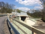 Opravený most v Černovírském lese