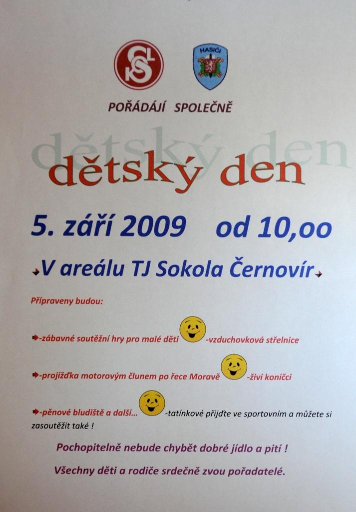 Dětský den 5.září 2009